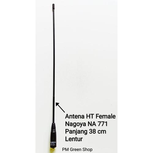 Foto Produk Antena ht jarak jauh dualband vhf/uhf baofeng uv 5r bf 888s bf uv 82 dari PM green shop