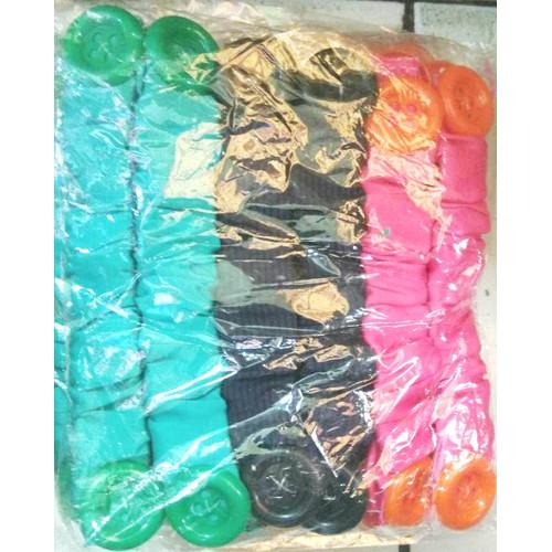 Foto Produk 12 Pcs Konektor Pengait Masker Hijab Kancing Karet Warna dari reynaldo-tan
