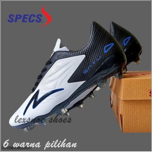 Foto Produk Sepatu sepak bola soccer specs accelerator satu elite - Hitam putih, 39 dari lexsnoe shoes