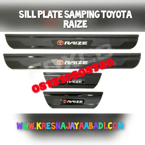 Foto Produk Sill plate Samping Toyota Raize dari KRESNA CAR ACCESORIES