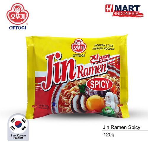 Foto Produk Ottogi Jin Ramen Spicy 120g dari H Mart Official Shop