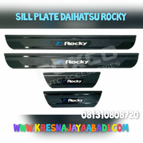 Foto Produk Sill plate Samping Daihatsu Rocky dari KRESNA CAR ACCESORIES