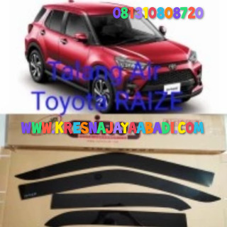 Foto Produk Talang Air Toyota Raize dari KRESNA CAR ACCESORIES
