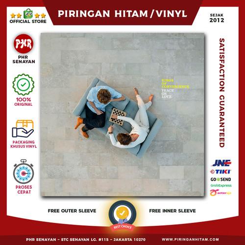 Foto Produk Vinyl KINGS OF CONVENIENCE - Peace Or Love [Piringan Hitam/LP/PH] dari PHR Senayan