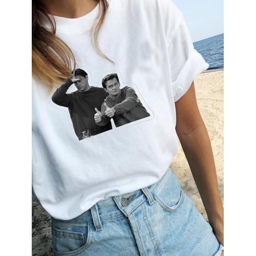 Foto Produk Kaos Friends   Tshirt custom  kornit beeze series DTG dari Raster Graphic Print