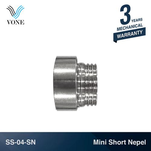"""Foto Produk VONE SS-04-SN Nepel Pipa Pipe 1/2"""" M x 1/2"""" F Sambungan Sok Keran Kran dari Vone Sanitary Indonesia"""