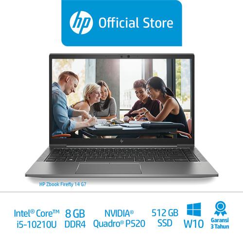 """Foto Produk HP ZBook Firefly 14 G7 /14""""/Intel i5/8GB/QuadroP5204GB/512GB SSD dari HP Official"""