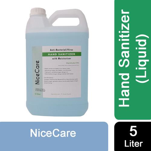 Foto Produk Nice Care Hand Sanitizer 5L - LIQUID 5L dari Sisedapepade