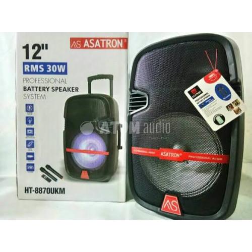 Foto Produk Asatron HT 8870 UKM / HT-8870UKM Speaker Portable 12 inch dari Atom Audio