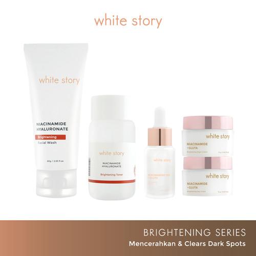 Foto Produk White Story Paket Wajah Brightening & Serum dari White Story Official Store