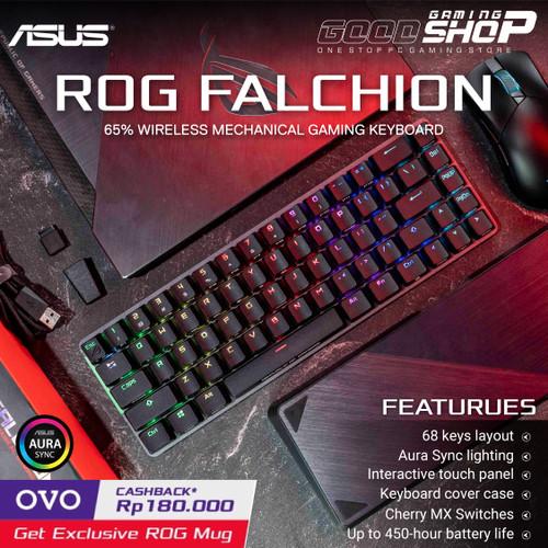 Foto Produk ASUS ROG Falchion Wireless Mechanical Gaming Keyboard - Biru dari GOODGAMINGM2M