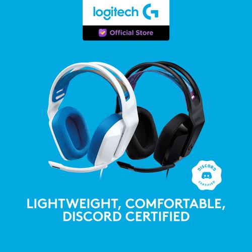 Foto Produk Logitech G335 7.1 Wired Gaming Headset - Hitam dari Logitech G Official
