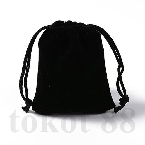 Foto Produk ponch serut tas penyinpanan perhiasan 7*9cm Jewelry bag Velvet kantong - 7*9CM dari tokot 88