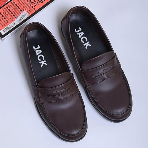 Foto Produk PANTOPEL BROWN |ManNeedMe x Jack| Sepatu Oxford Pria | Pantofel Formal - Cokelat, 39 dari ManNeedMe