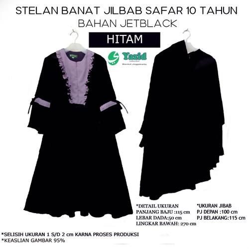 Foto Produk Gamis / Baju / Setelan Wanita Muslim jilbab safar terbaru umur 10tahun dari Yazid Bantul