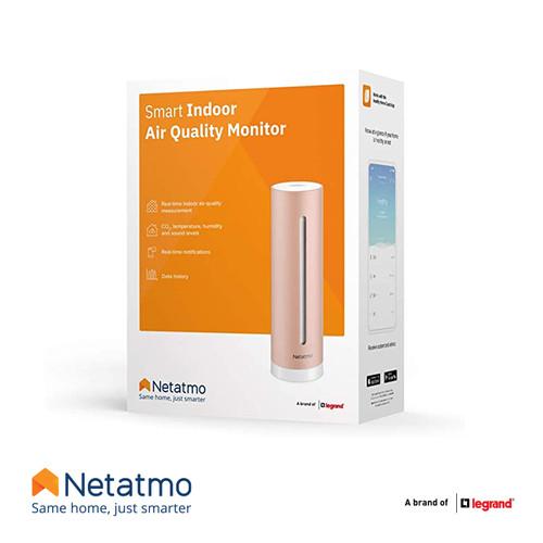 Foto Produk Netatmo Smart Indoor Air Quality Monitor dari Legrand Indonesia