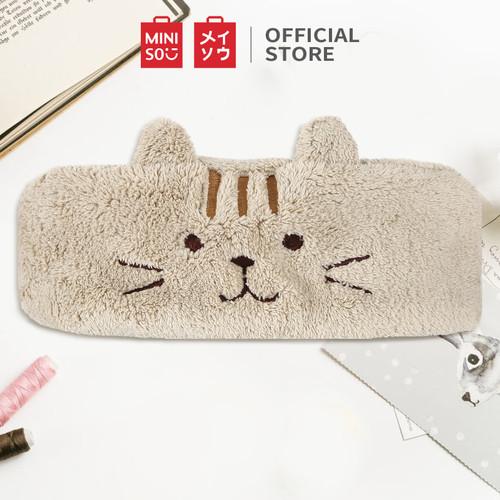 Foto Produk MINISO Bando Ikat Pengikat Kepala Bandana Seri Kucing Cat Cuci Muka - Cokelat dari Miniso Indonesia
