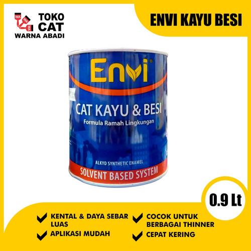 Foto Produk Cat Minyak Envi 0,9 Liter dari Toko Cat Warna Abadi