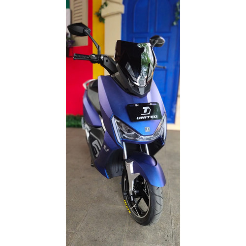 Foto Produk United Motor Listrik | Electric Motorcycle T1800 - OTR NON - JAKARTA - Blue dari UNITED E-MOTOR