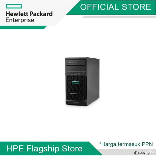 Foto Produk ML30 G10 E-2224 - 4 CORE 3.4 GHz, 32GB, 4TB SATA, DVD-RW, KM dari HPE Flagship Store