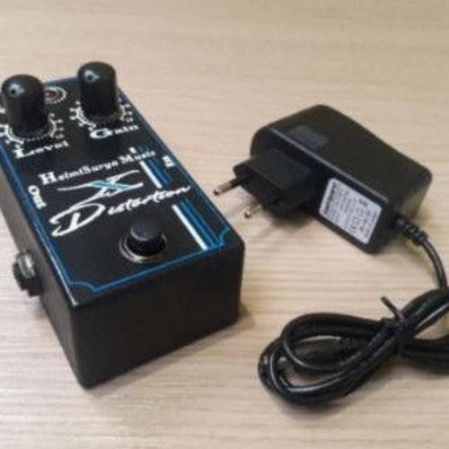 Foto Produk efek gitar murah + adaptor suara mantap - Hitam dari Regibestcover