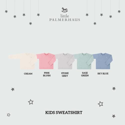 Foto Produk Kids Sweatshirt B 1-6 Tahun (Sweater Anak) - CREAM, 4 Years dari Little Palmerhaus
