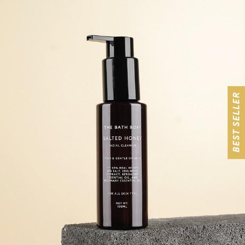 Foto Produk THE BATH BOX Salted Honey Facial Cleanser (melembabkan/sensitif) dari The Bath Box Official