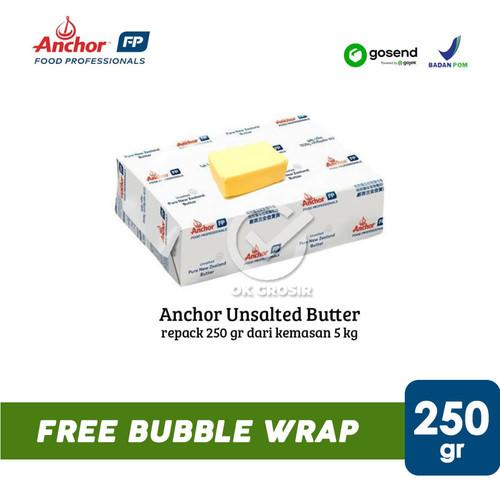 Foto Produk Anchor Unsalted Butter Repack 250 gr [KHUSUS GOSEND] dari ok-grosir