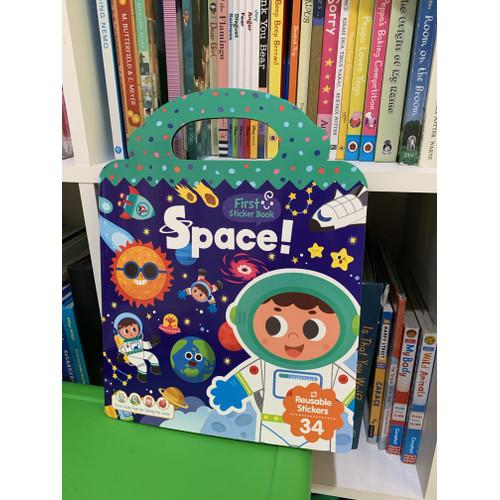 Foto Produk My first Sticker book buku stiker reusable buku stiker anak - Space dari Svj Accessories