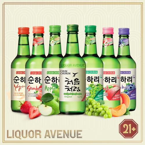 Foto Produk Lotte Chum Churum Korea Soju Complete Package All Flavors dari Liquor_Avenue