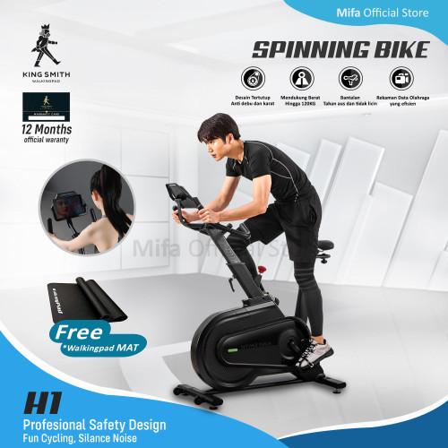 Foto Produk Xiaomi Kingsmith H1 Spinning Bike Sepeda Statis Fitness Gym H 1 dari MiFa Official Store