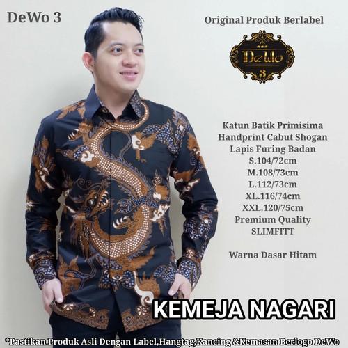 Foto Produk kemeja batik slimfit tirta premium dari Jivan Batik