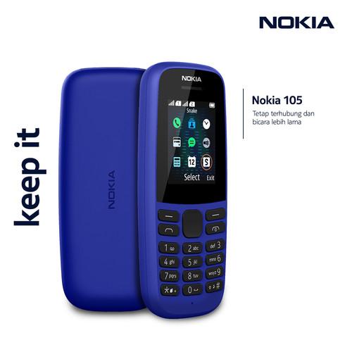 Foto Produk Nokia 105 – Blue dari Nokia Mobile Official