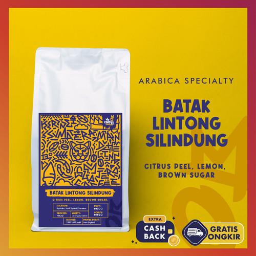 Foto Produk Biji Kopi Arabika Lintong 500gr| Sumatera Arabica Specialty Coffee - BIJI SANGRAI dari Mr. O Coffee