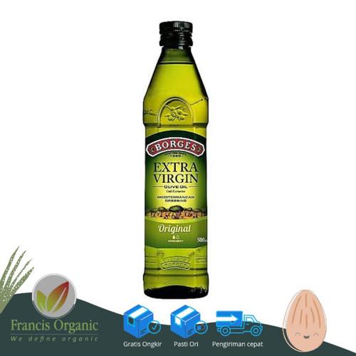 Foto Produk Borges Extra Virgin Olive Oil 500ml / Minyak Zaitun 500ml - Tanpa Kardus dari Francis Organic