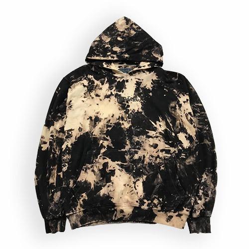 Foto Produk Hoodieku Hoodie Black Mist Tie Dye - Pria - M, Hoodie dari hoodieku official
