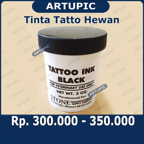 Foto Produk Tinta Tatto HANYA TINTA SAJA untuk Hewan Kelinci Anjing Kambing Ternak dari ArtupicPeralatanPeternak