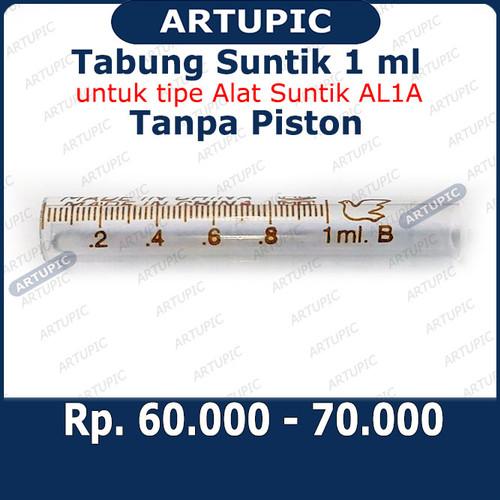 Foto Produk Tabung Suntik 1 ml Tanpa Piston Suku Cadang Alat Suntik TABUNG AL1A dari ArtupicPeralatanPeternak