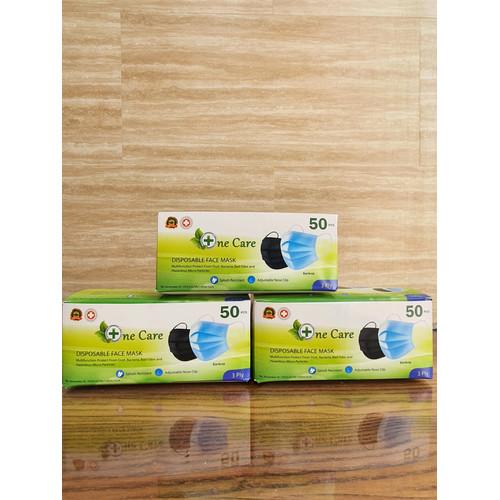 Foto Produk Masker Bedah Medis 3 Ply Isi 50 Ijin Resmi Kemenkes RI Surgical Protec - Masker Medis dari KK STORE 99
