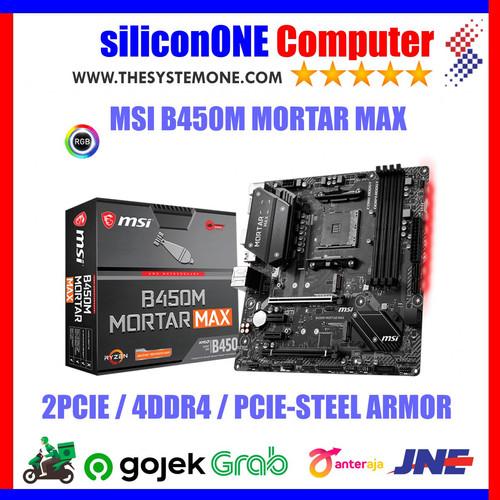 Foto Produk MSI B450M MORTAR MAX dari silicon ONE Computer