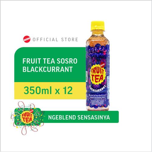Foto Produk Fruit Tea Sosro Blackcurrant pet 350 ml dari Sosro Official Store