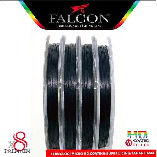 Foto Produk Senar PE X8 FALCON SUPER BRAID / Senar Kuat / Senar Laut / Benang PE - Hitam, PE 0.8 dari Falcon Indoesia