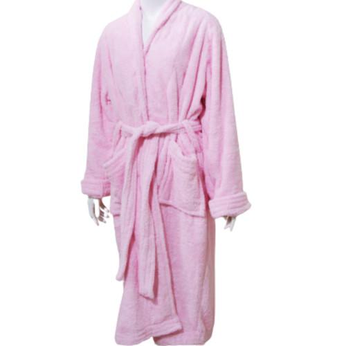 Foto Produk Chliya Bathrobe Male - Kimono Mandi Dewasa - Merah Muda dari Chliya Towel