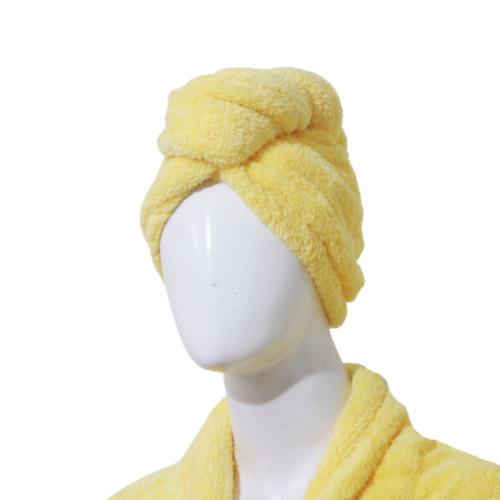 Foto Produk Chliya Shower Cap - Handuk Kepala - Kuning dari Chliya Towel