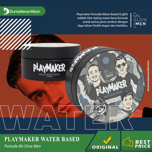 Foto Produk Ms Glow Men Pomade Playmaker MsGlow For Men - Water Base dari DuniaKecantikan