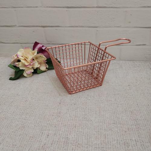 Foto Produk Serving basket for fries chips burger / keranjang saji untuk cafe - e gold rose dari Jakarta Grande Store