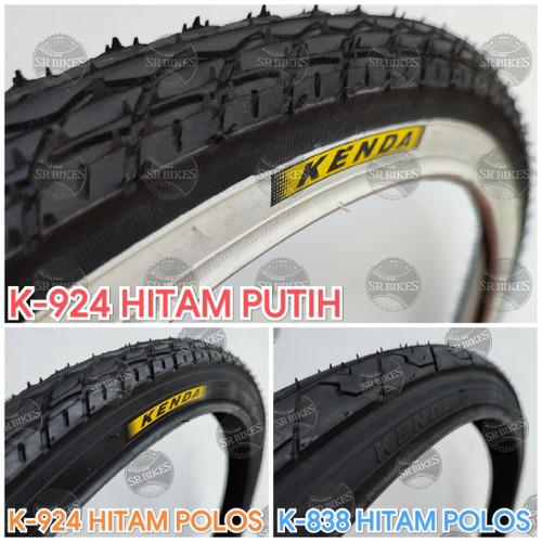 Foto Produk Ban Luar 24 x 1.75 (47-507) Sepeda MTB Minion Mini. KENDA - HITAM K-924 dari SR Bikes