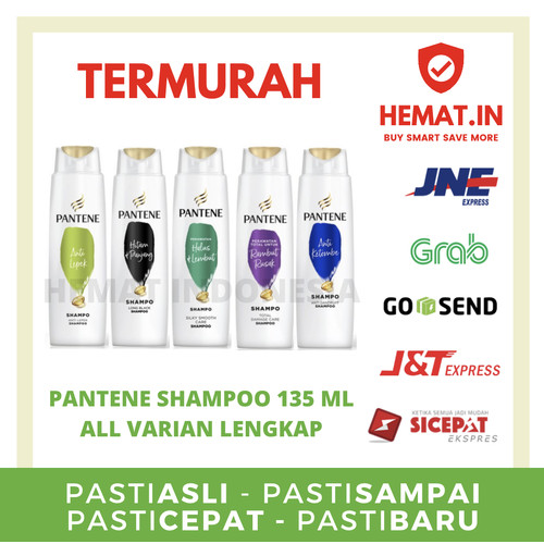 Foto Produk Pantene Shampoo All Variant 135ml dari Hemat Indonesia