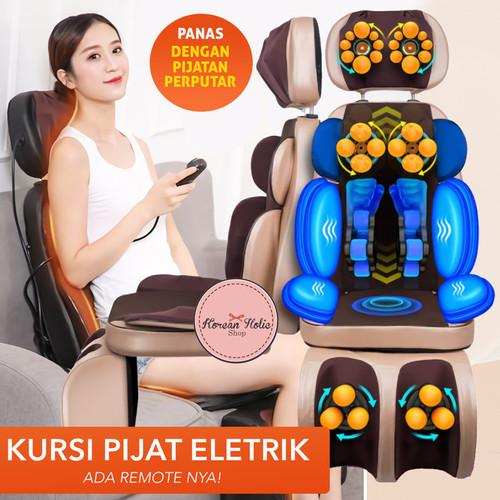 Foto Produk Kursi Pijat terapi alat pijat pinggang kaki bahu leher chair massager dari Koreanholicshop