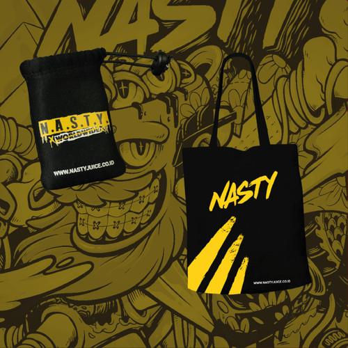 Foto Produk Tas Totebag dan Pouch Sleeve Mod Case Vape Bag Ekslusif NASTY Project dari NASTYProject